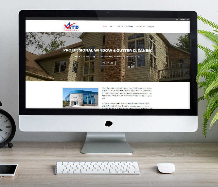 Attention to Detail Window Cleaning Website Design