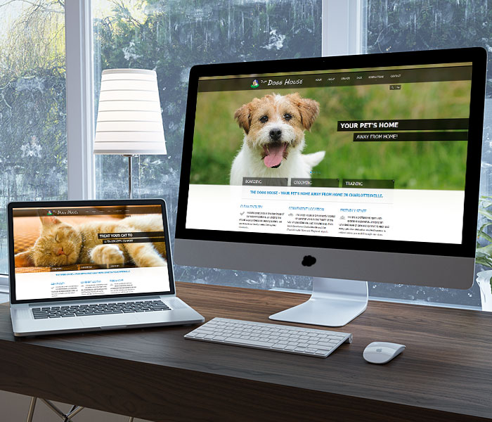 The Dogg House Website Design