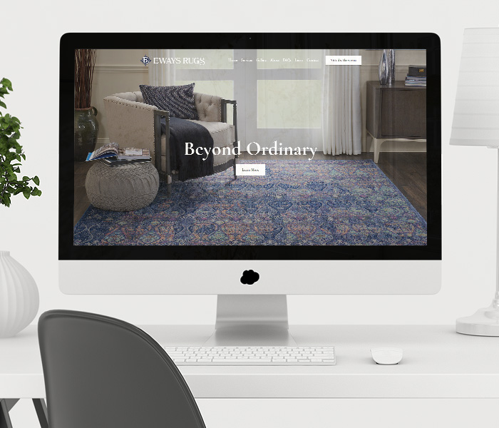 Eways Rugs Website Design