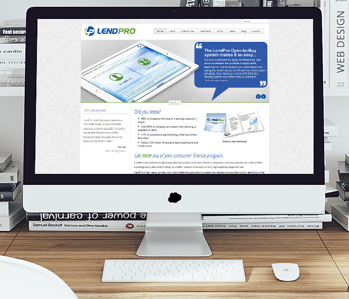 LendPro Website Design