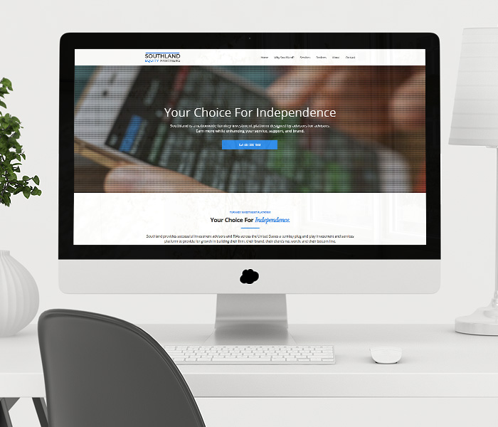 Southland Equity Partners Website Design